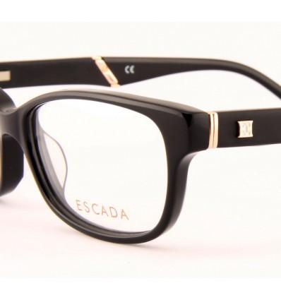 černe dámské dioptrické brýle Escada VES261 0700