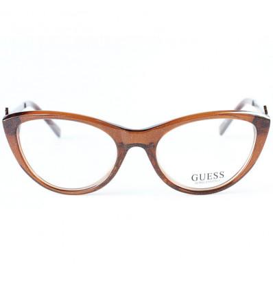 Women eyeglasses Guess GU2257 BRN