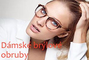 Dámské brýlové obruby levně